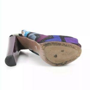 Missoni Shoes - Missoni Women's Slingback Striped Knit Pumps 39